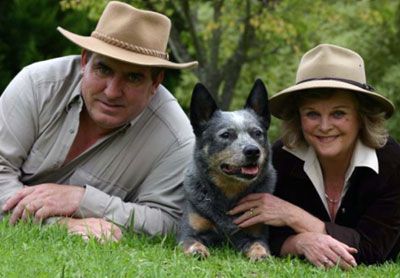 Bark Buster Founders Danny and Sylvia Wilson